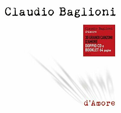 Claudio Baglioni - D'amore (2 CD + Book)  COLUMBIA