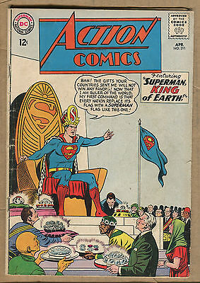 Action Comics - #311 - King of Earth -1964 (Grade 4.0) WH
