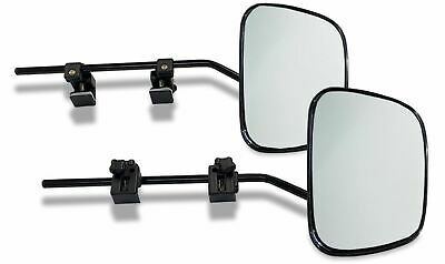 2 x Milenco Grand Aero 3 Extra Wide Convex Glass Caravan Towing Mirrors