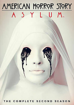 American Horror Story: Asylum - The Complete Second Season (DVD, 2013, 4-Disc...