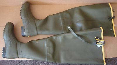"LaCrosse Men's 32"" Green 600G Wader Hunting Hip Boots size 12"