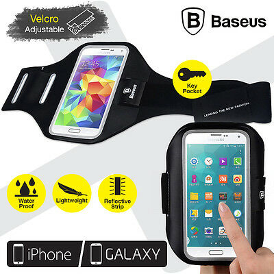BASEUS Waterproof Running Sport Armband Case iPhone 5 5S 6 6s Samsung S5 S6