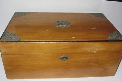 Ancienne Grande Boite A Couture Vintage Sewing Box
