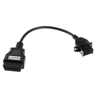 8 Pin to 16 pin OBD2 Adapter Cable for Volvo Trucks