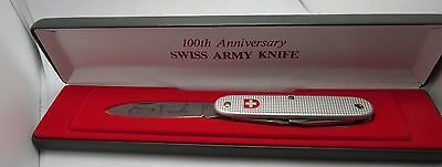 SWISS ARMY KNIFE 100TH ANNIVERSARY Wenger Delemont Jahre Switzerland 100th