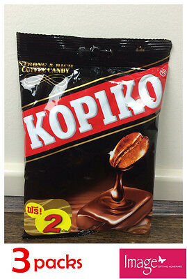 3 Pack Kopiko Coffee Candy 150g Kopi flavor Candies