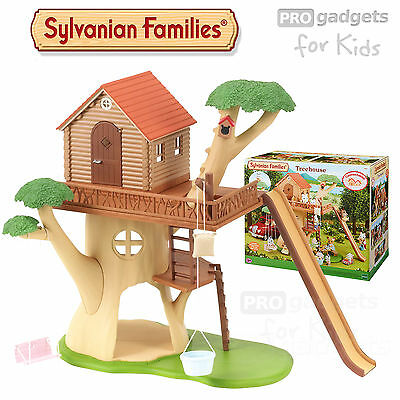 Genuine Sylvanian Families TREE HOUSE SF4618 Treehouse Swing Slide Cubby House