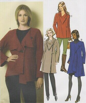 From UK Sewing Pattern  Jacket Top Pants 4-16 #6161