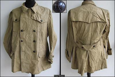 Wwii Original German Ally Mountain Troops Canvas Jacket V.rare