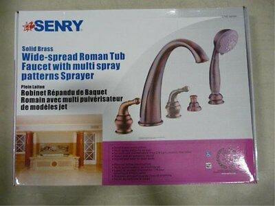 BRAND NEW SENRY ROMAN TUB FILLER FAUCET CHROME $379.99 5740-68PC