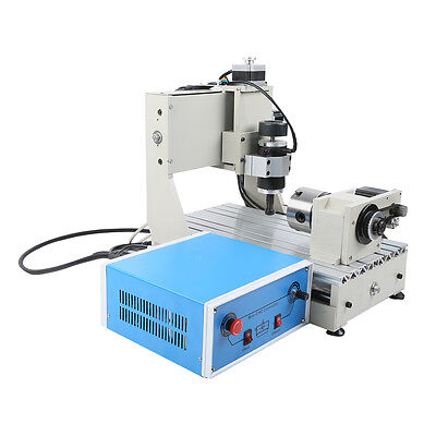 CNC 3020 4 Axis Desktop Router New Engraver Engraving Machine Drilling Milling