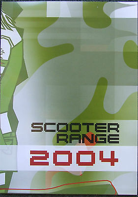 Mbk Scooter Range 2004 Fold Out To Poster
