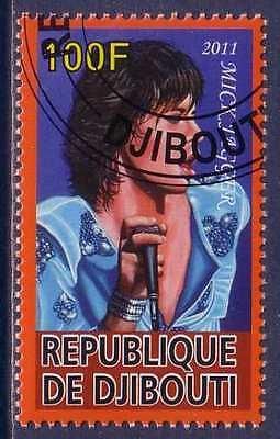 Mick Jagger Famous People stamp