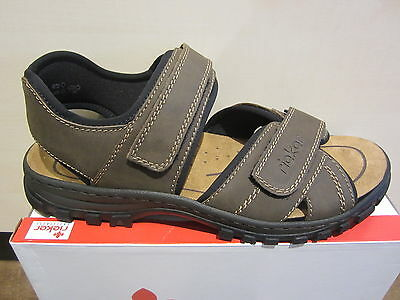 Rieker Sandals Sneakers brown Touch fastener 25051 NEW