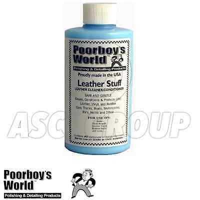 Poorboy's World Leather Stuff 16oz 473ml Vinyl and Rubber Conditioner Protectant