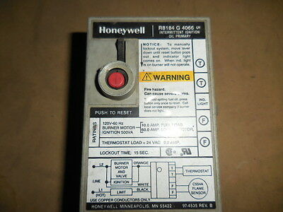 Honeywell - Intermittent Ignition Oil Control, P/N R8184G4090