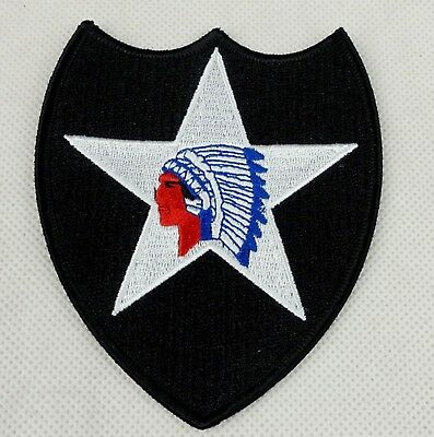 US Army Vietnam Era 2nd Infantry Division Color Patch-D773