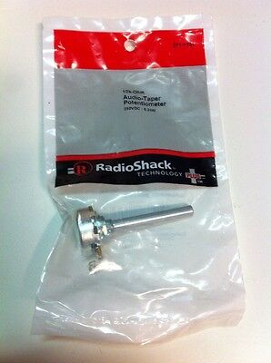 10K-Ohm Audio-Taper Potentiometer 271-1721 By RadioShack