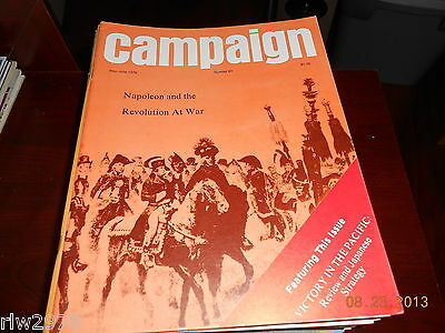 Campaign Magazine #85 May/June 1978 - Lowry Publications - WARGAMING! RARE!