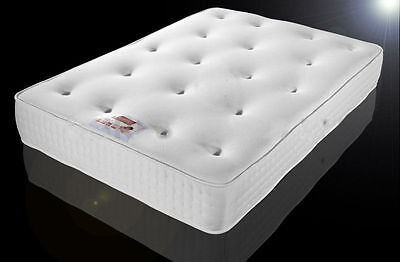 """exclusive bed-world 12"""" TUFTED ORTHOPAEDIC MATTRESS DOUBLE 4FT6 5FT KING SIZE"""