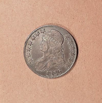 1826 Capped Bust Half Dollar grades XF, Richly Toned, Very Old Lt Clean, O-110