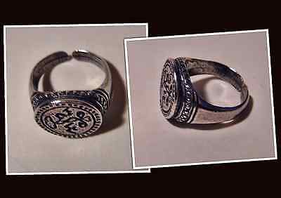 Museums Replik Siegel Ring W.S. 1810 William Shakespeare ? Replica