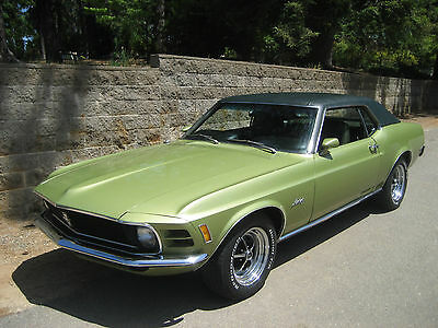 Ford : Mustang Deluxe Coupe 1970 super clean mustang deluxe coupe