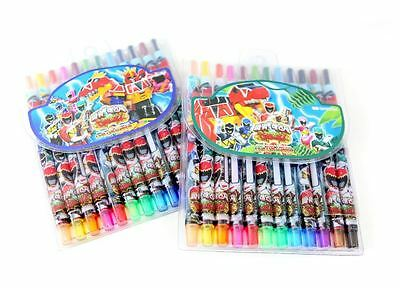 Power Rangers Dino Force Colored Pencils Kids Children Child Boys School Gift