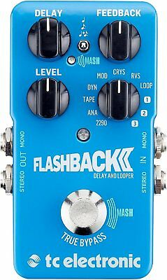 TC Electronics*FlashBack*Delay & Looper Guitar Effect Pedal FREE 2D SHIP NEW