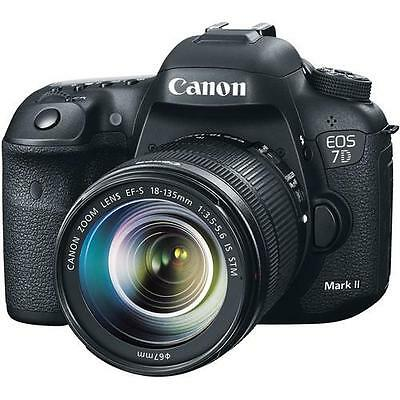 Canon EOS 7D Mark II DSLR Camera with 18-135mm Lens 9128B016