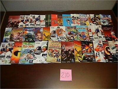 ***45 Gamecube Gc Instruction Manuals Booklets Lot~~~