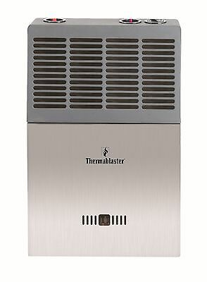 Thermablaster 10,000 BTU Blue Flame Natural or Propane Gas Wall Heater w/ Tstat