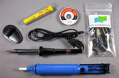 Samsung LN46A550 Soldering Accessory Kit + Capacitors for LCD TV Repair v3