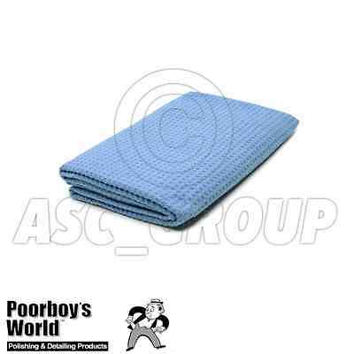 """Poorboy's World Waffle Weave Drying Towel 24"""" X 36"""" Soft Towel"""