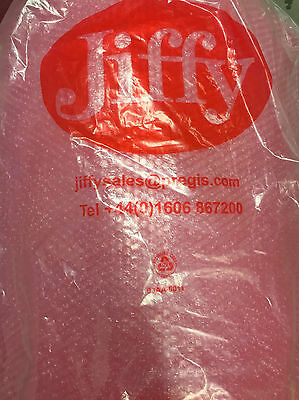 JIFFY PINK ANTISTATIC BUBBLE WRAP 300, 500, 750 MM x 100 M - MULTI LISTING