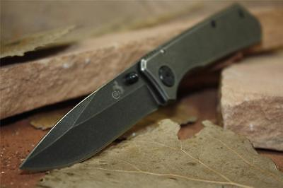 "Colt Knives Black Stonewash Finish Folder 4"" Closed New Pocket Knife CT652"