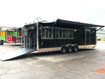 Concession Trailer 8.5 X 30 with Walk in Cooler- Full Kitchen