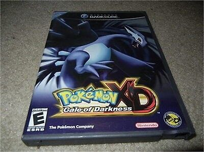 ***pokemon Xd Gale Of Darkness Gamecube Empty Replacement Case & Artwork***