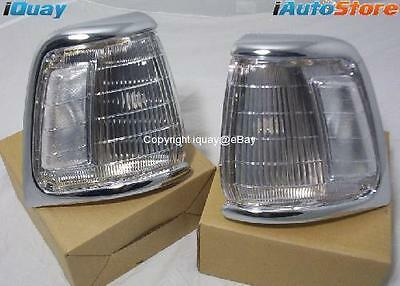 Toyota Hilux 91-97 Clear Corner Indicator Lights 2WD