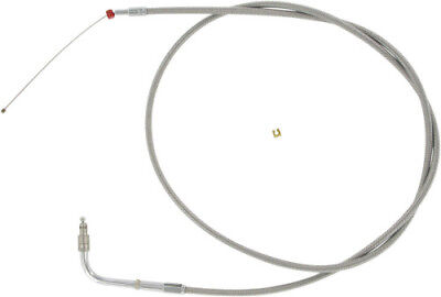 Barnett - 102-30-30021-04 - Stainless Clear-Coated Throttle Cable (+4 in)