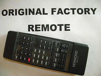 Kenwood Rc-711 Remote Control ++ Fast Shipping ++  -32