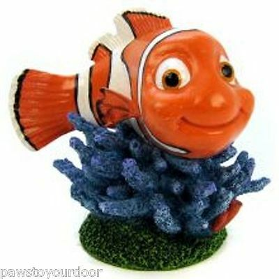 "Nemo Clown Fish Aquarium Ornament  Fish Tank Disney Pixar  Decoration 3.5"" 9cm"
