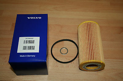 Genuine Volvo Oil filter inc Sump Seal 30788490  S40 V50 C70 S60 V70 C30 S80 V60