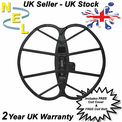 "NEL Coil Big 15"" x 17"" for Garrett Ace range inc cover - Metal Detecting"