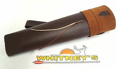 Neet Archery Products Traditional Back Quiver RH T-BQ-30 3000