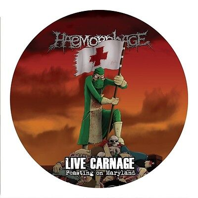 Haemorrhage - Live Carnage: Feasting On Maryland  Vinyl Picture Lp New+