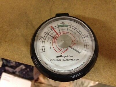 Vintage air guide fishing barometer for Barometer and fishing