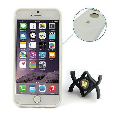 Tetrax XCase Case Cover with Smart Dash Mount Airvent Bundle for iPhone 6 White
