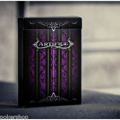 Carte Bicycle Artifice Second Edition Purple by Ellusionist