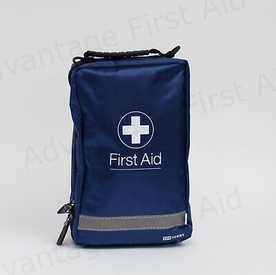 Empty First Aid Bag with Compartments - Large Blue Active 5 - 24.5 x 15.5 x 10cm